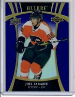 2019-20 UPPER DECK .ALLURE JOEL FARABEE  PURPLE DIAMOND  7 OF 10 FLYERS RC