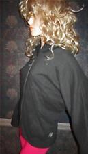 Victoria' Secret $80 Super Model Essentials Black Fleece Zip Hoodie Medium