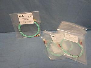 4 NEW C2G 36232 2m LC-LC 10Gb 50/125 OM3 Duplex Multimode Fiber Optic Cable