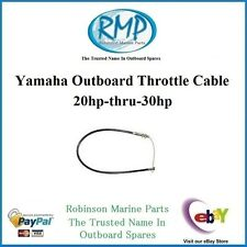 A Brand New Throttle Cable Suits Yamaha 20hp-thru-30hp 2/stroke # R 689-26301-00