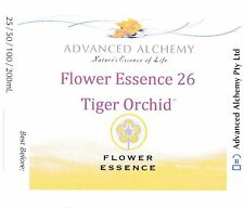 Flower Essence #26 Independence - Advanced Alchemy 25ml Tiger Orchid