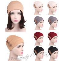 Muslim Women Chemo Cap Turban Stretch Hijab Scarf Islamic Headwear Headscarf Hat