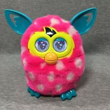 2013 HASBRO FURBY BOOM Interactive Toy - Pink White Polka Dots - TESTED WORKING