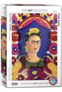 EuroGraphics Frida Kahlo Jigsaw Puzzle 1000 Pc Fine Art Collection NEW FREE P&P