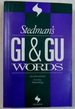 Stedman's GI/GU Words : Including: Nephrology (1996, Paperback, Revised)