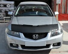 Car Bonnet Mask Hood Bra + TSX LOGO Fits Acura TSX 04 05 06 07 08