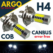 H4 Led Bulbs Xenon Car Cob Super White 472 Headlight Headlamp Halogen Canbus 12v