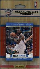 2012-13 Panini NBA Hoops Factory Sealed Team Set Oklahoma City Thunder 10 Cards
