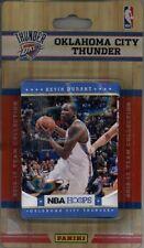 2012-13 Panini NBA Hoops Factory Sealed Team Set Oklahoma City Thunder 10 Cards