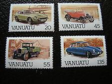 VANUATU - timbre yvert et tellier n° 755 a 758 n** (A24) stamp