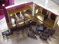 Vintage Weebles wobbles West 1974 Hasbro figures play set GR8 GIFT