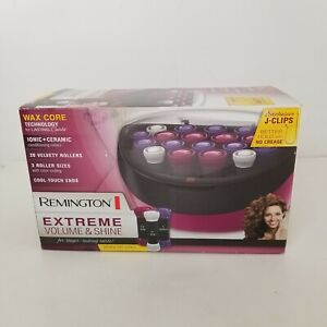 Remington Ionic Conditioning Hair Setter Curlers Extreme Volume & Shine NEW