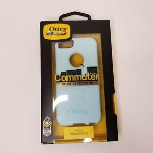 Genuine OtterBox COMMUTER Apple Iphone 5 5S SE (1st Gen) Hard Case Shell Blue