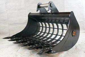 MS03 Sieblöffel Baggerschaufel Siebschaufel Baggerlöffel Minibagger 120cm 1200mm
