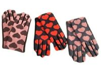 Women Winter Warm Fashion Gloves With Hearts