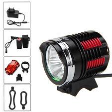 Linterna Frontal 12000lm 3x XM-L R8 LED Luz de Bicicleta LÁMPARA Foco Faro