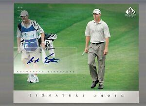 Bob Estes 2004 Upper Deck SP Signature Golf Signed Autographed 8X10 Photo