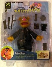 The Muppets Patrol Bear Action Figure Palisades Series Six 2003 Collectors