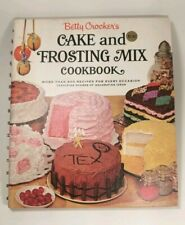FIRST PRINT Betty Crocker's Cake and Frosting Mix Cookbook EDITION 1966 SPIRAL