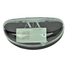 AX Armani Exchange Authentic Hard Plastic Case Sunglasses Glasses Black Vintage
