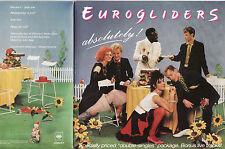 EUROGLIDERS - ABSOLUTELY! Very rare 1985 Aussie Ltd.Ed. G/F Double Single! EX+M-