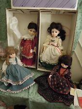 nm-583  LITTLE WOMEN doll Collection-Beth, Meg, Jo & Marme (Robin Woods)