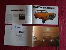 J.4062  / MAZDA catalogue 32 pages sur toute la gamme 1972