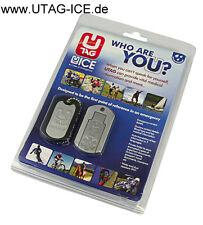 Dog Tag emergencia remolque USB sos cápsula cadena UTAG ice Biker diabetes regalo us