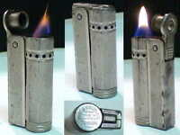 BRIQUET Ancien * IMCO Triplex Junior * Vintage fuel LIGHTER Feuerzeug Accendino