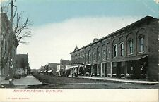 A Quiet Day on North Water Street, Sparta WI 1907