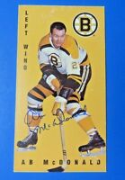AB MCDONALD SIGNED 1994 PARKHURST HOCKEY CARD #14