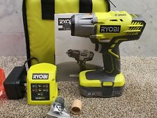 Ryobi 18v Impact wrench 400Nm 2.0ah Battery