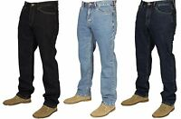 BNWT Farah Mens Latest Denim Jeans Pants Straight Leg Sizes 30-40 Designer