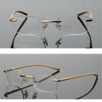 Senza Cornice bifocali occhiali da lettura Moda Uomo 1.0 2.0 3.0 4.0 1.5 2.5 3.5