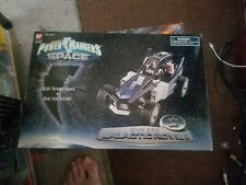 Vintage Power Rangers In Space Deluxe Black Galactic Rover with Original Box