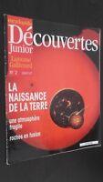 Rivista Settimanale per Lettera X Junior N° 2 Gallimard Be