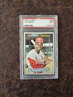 1967 Topps Baseball Lou Brock #285 - PSA 7 - St. Louis Cardinals