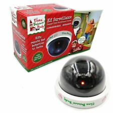 Elf Fake CCTV LED Dome Camera Security Dummy Surveillance Outdoor Xmas Camera