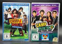 DVD: Sammlung CAMP ROCK 1-2 (1 + 2) Komplett Deutsch
