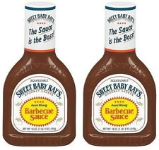 Sweet Baby Ray's Original Barbecue Sauce 18 oz Bottle 2 Pack