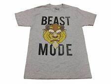 Disney Beast Mode Beauty And The Beast Vintage Original Licensed Men's T Shirt