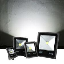 10W-50W LED Fluter Lampe Außen Strahler Baustrahler Scheinwerfer IP65 Kaltweiß