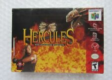 NEW Hercules Nintendo 64 N64 Authentic OEM Video Game Factory Sealed Box NIB NOS
