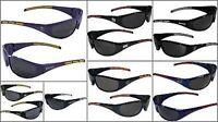 Nfl Wrap 3 Dot Black Sunglasses Pick Your Team Football Sports Sun Glasses