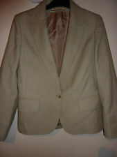 Cache D`Or green pure new wool Blazer, jacket. Size 12