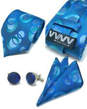 "New ""VYNY"" JACQUARD WOVEN Men's Neckties Tie+Hanky+Cufflinks Sets (VS114)"