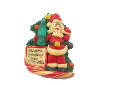Coca-Cola Santa Salt Dough-style Christmas Ornament- UNIQUE ITEM