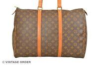 Louis Vuitton Monogram Sac Flanerie 45 Shoulder Travel Bag M51115 - YG01302