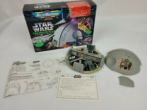 *COMPLETE* Star Wars Micro Machines The Death Star A New Hope Playset Galoob