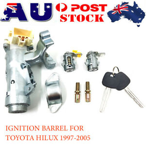 IGNITION BARREL DOOR SWITCH LOCK KEY BOOT FOR Toyota Hilux 1997-2005